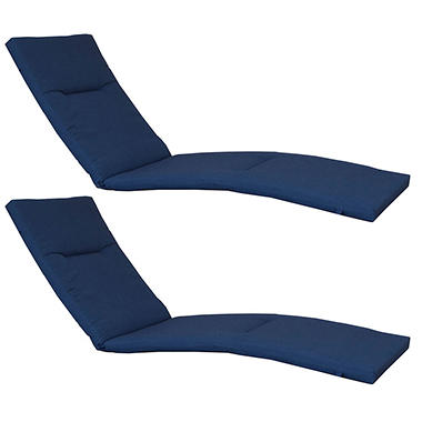 Members Mark Sunbrella Chaise Lounge Cushion 2 Pack Various Colors