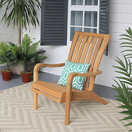 Member's Mark Teak Adirondack Chair