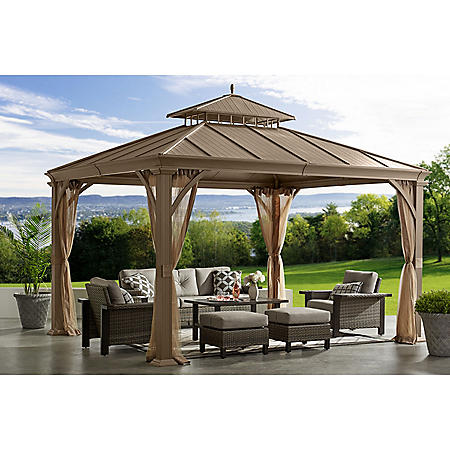 Member's Mark Salemo Hardtop Gazebo, 10' x 12'