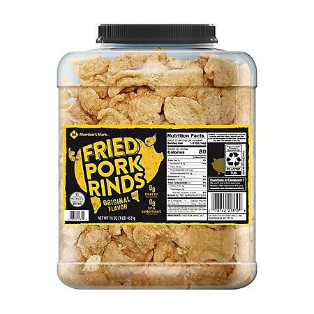 Member's Mark Original Fried Pork Rinds (16 oz.)