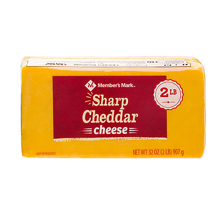 Member's Mark Sharp Cheddar Cheese Block (2 lbs.)