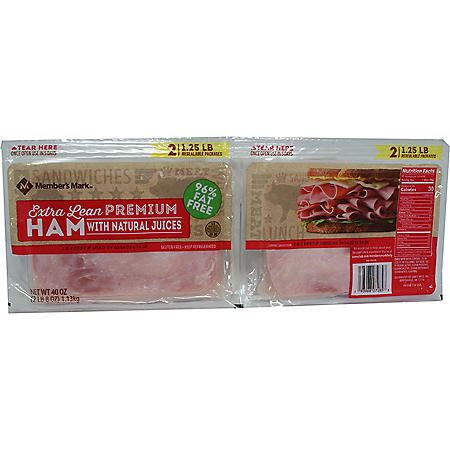 Member's Mark Premium Ham Lunch Meat (40 oz., 2 pk.)