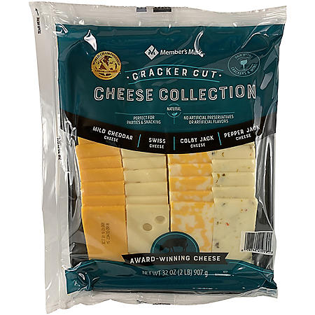 Member's Mark Cracker Cut Cheese Variety Tray (2 lbs.)