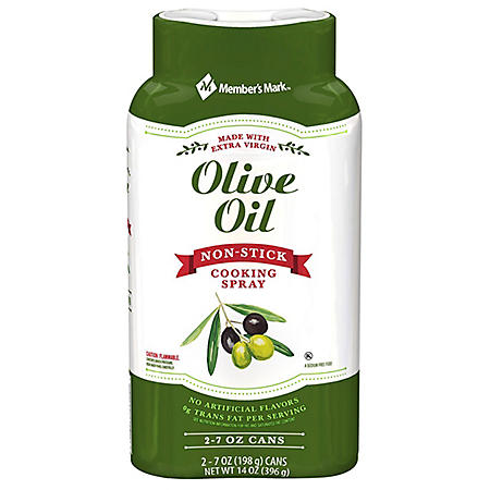 Member's Mark Olive Oil Cooking Spray (7 oz., 2 pk.)