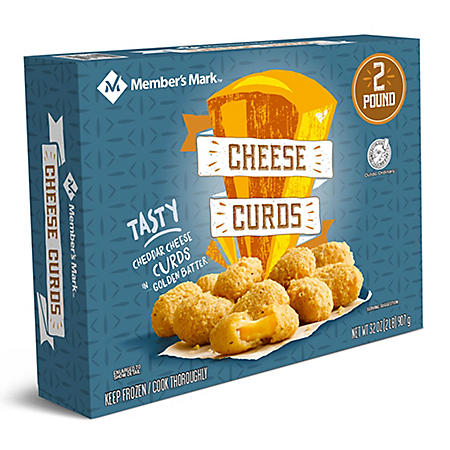 Member's Mark Cheese Curds, Frozen (32 oz.)