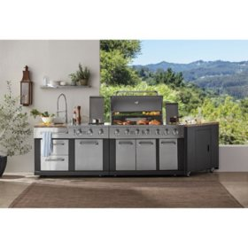 Member S Mark 3 Piece Modular Outdoor Kitchen 5 Burner