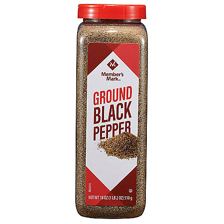 Member's Mark Ground Black Pepper (18 oz.)