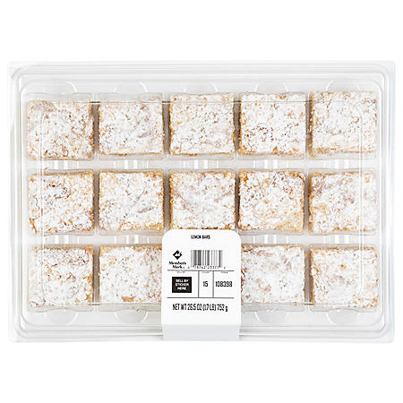Member's Mark Lemon Bars (15 ct.)