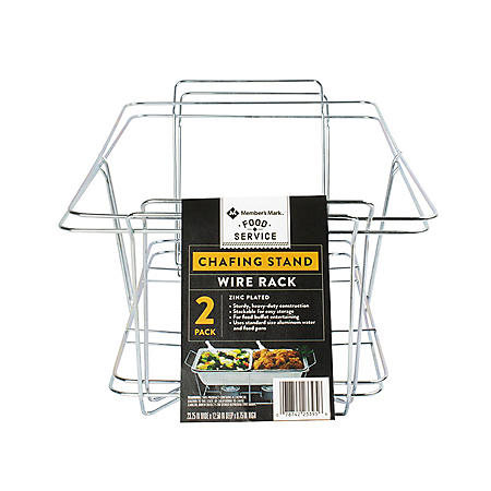 Member's Mark Chafing Dish Wire Rack (2 pk.)