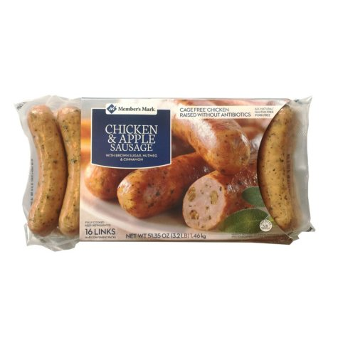 Member's Mark Chicken & Apple Gourmet Sausage (16 links)