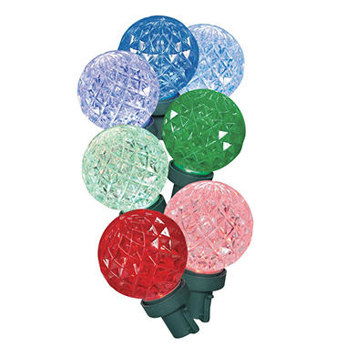 Member's Mark Color Morphing Diamond Cut LED Lights, 30 Count