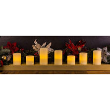Member's Mark LED Candles, Set of 7 (Assorted Styles)