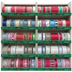 Sams Florence Al Christmas Eve Hours 2020 Member's Mark Premium Wired Holiday Ribbon (Assorted Colors and
