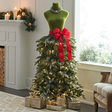 zoom pan - Christmas Tree Dress