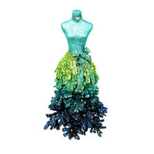 Member's Mark Premium 5' Dress Form Tree (Assorted Colors)