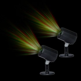 Member's Mark Holiday Laser Light Projector with Timer (2 pk.)