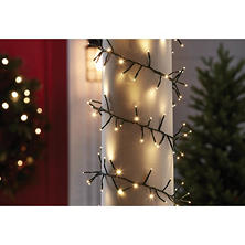 Member's Mark 18' Shimmering LED Garland Lights