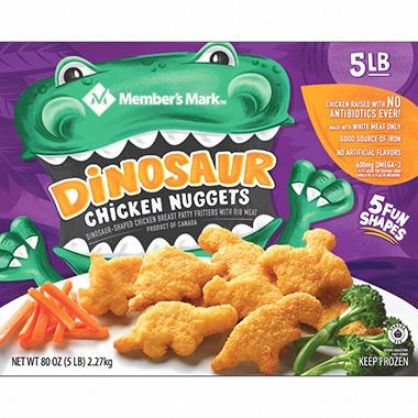 Member's Mark Dinosaur Chicken Nuggets (5 lbs.) - Sam's Club