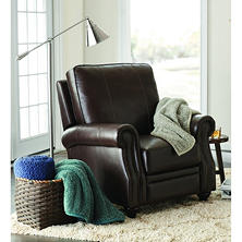 Member's Mark James Leather Pushback Recliner
