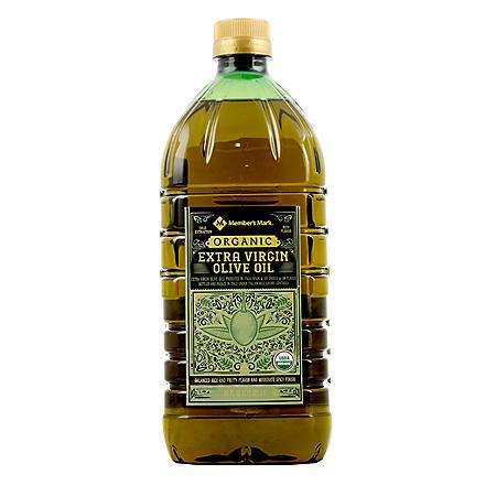 Member's Mark Organic Extra Virgin Olive Oil (2 L)