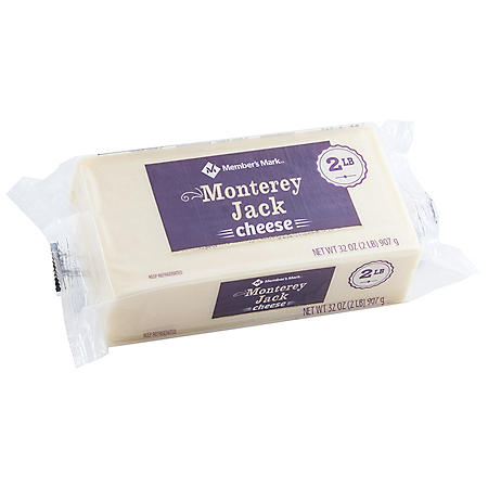 Member's Mark Monterey Jack Cheese, Chunk (2 lbs.)
