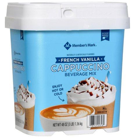 Member's Mark French Vanilla Cappuccino Beverage Mix (48 oz.)