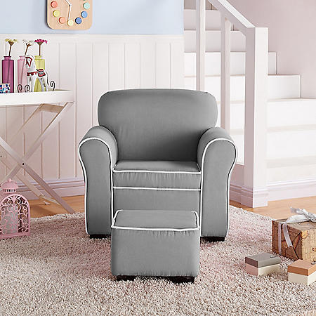 Member S Mark Kids Chair And Ottoman Sam S Club