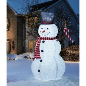 members mark 72 pop up snowman