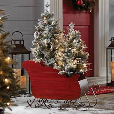 Sled Christmas Tree Stand