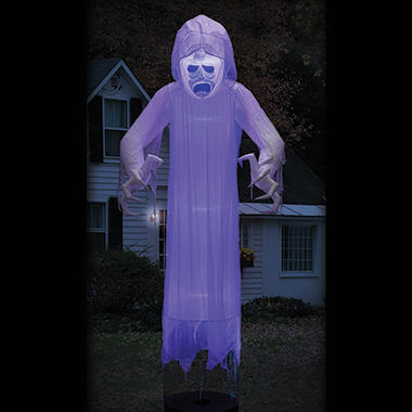 Member's Mark 12' Floating Halloween Ghost with Lightshow Effects ...
