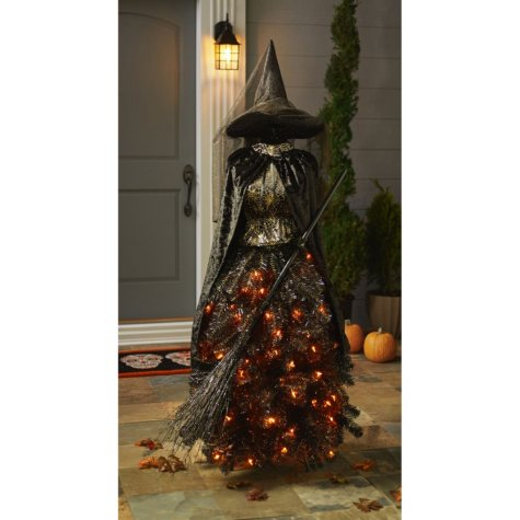 Member's Mark 5' Halloween Witch Dress Form Tree