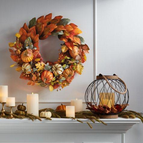 "Member's Mark 26""  Harvest Wreath (Assorted Styles)"