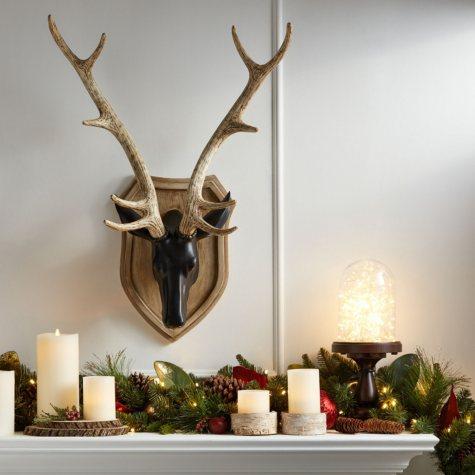 Member's Mark Deer Head Decoration, Black