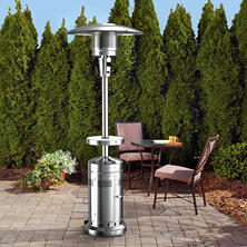 Member's Mark Patio Heater with LED Table