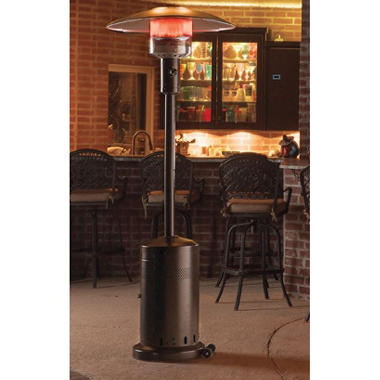 Memberu0027s Mark Bronze Patio Heater