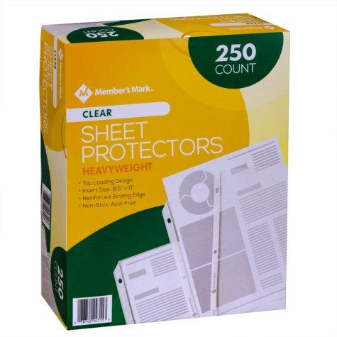 Member's Mark Heavyweight Sheet Protectors, Select Type (250 ct.)