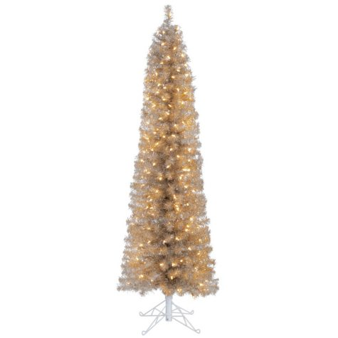 Member's Mark 6' Tinsel Christmas Trees (Assorted Colors)