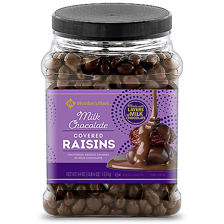 Member's Mark Chocolate Raisins (54 oz.)