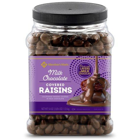 Member's Mark Chocolate Raisins (54 oz.)