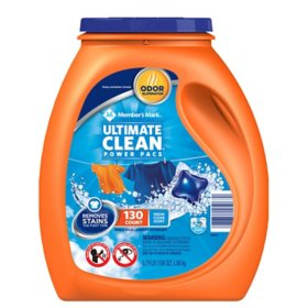 Member's Mark Ultimate Clean Laundry Detergent Power Pacs (120 ct.)