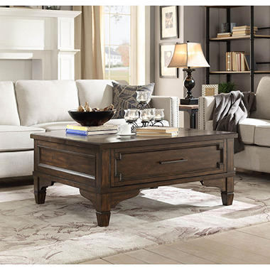 Lift Top Coffee Table On Image of Model