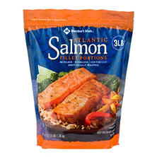 Member's Mark Frozen Atlantic Salmon Fillet Portions (3 lbs.)