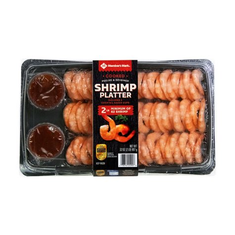 Member's Mark Shrimp Platter (2 lbs.)
