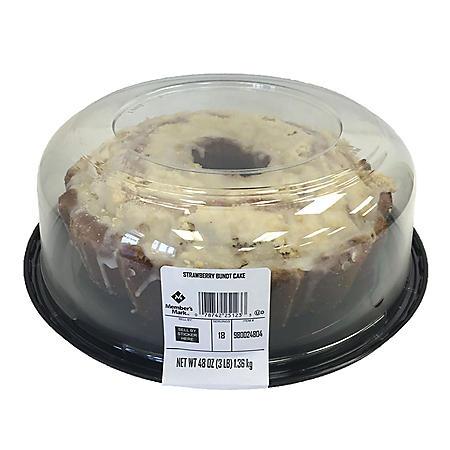 Member's Mark Strawberry Bundt Cake (48 oz.)