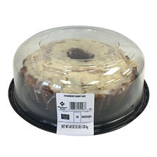 Member's Mark Strawberry Bundt Cake (48 oz.)