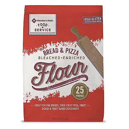 Member's Mark Bread & Pizza Flour (25 lbs.)