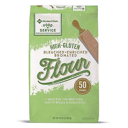 Member's Mark High-Gluten Flour (50 lbs.)