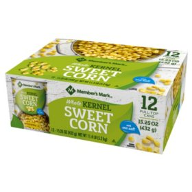 Member's Mark Whole Kernel Sweet Corn (15.25 oz., 12 ct.)