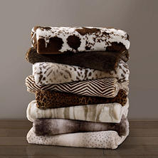 Member's Mark Luxury Faux Fur Throw (Assorted Patterns)