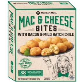 Member's Mark Mac and Cheese Bites with Bacon and Mild Hatch Chile (28.5 oz., 38 ct.)